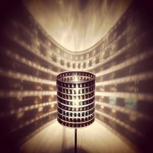 35mm Film Lamp – Aesthetics of Design