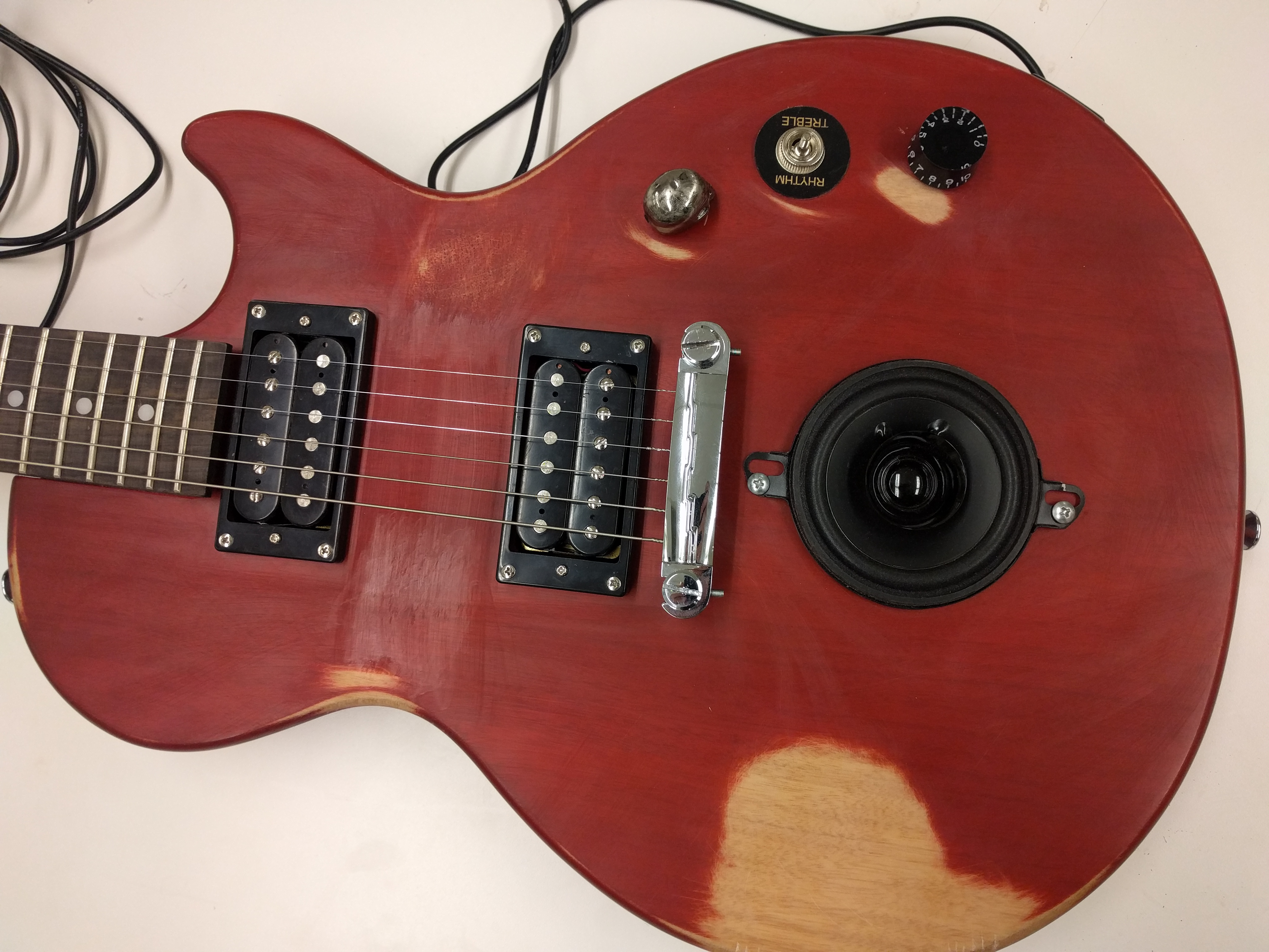 Road Worn Speaker Guitar By Ethan Gehring
