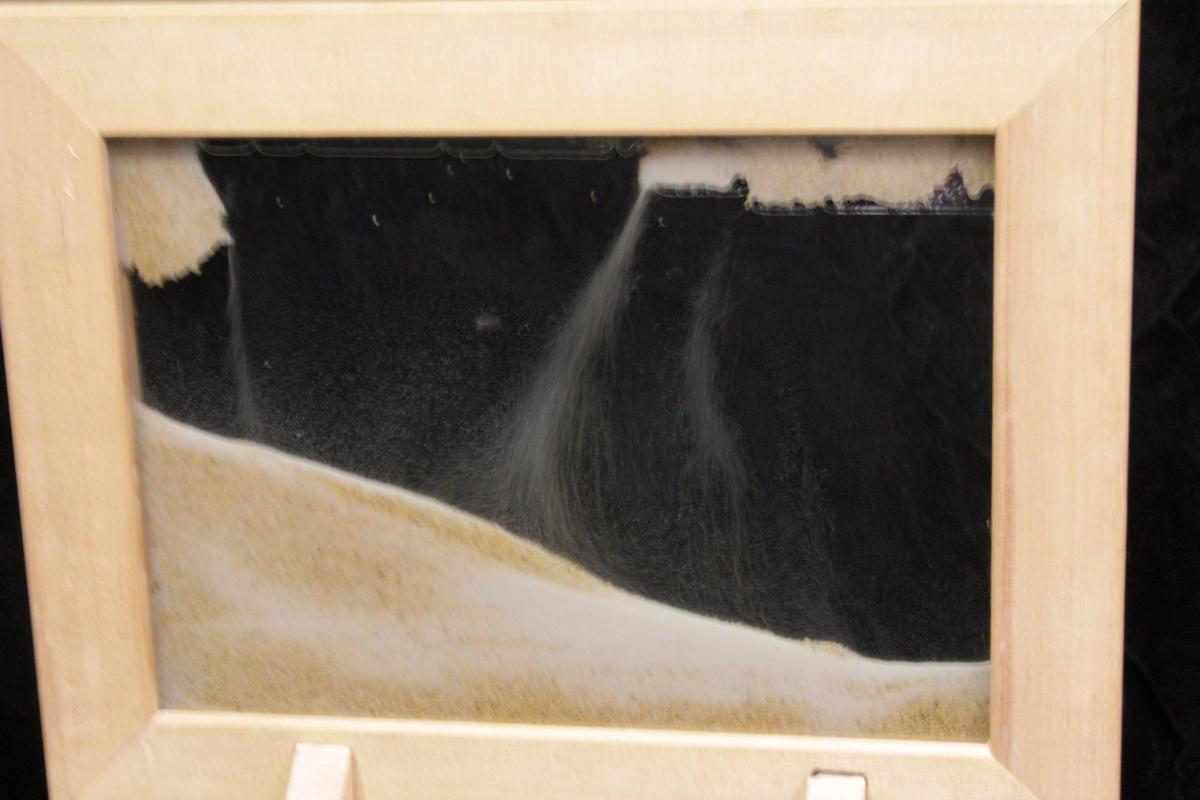 Sand Frame by Aly Badran